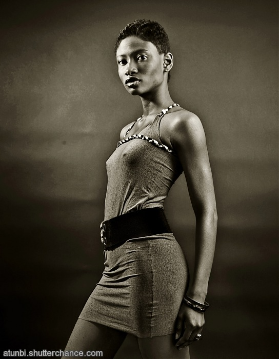 photoblog image Black photographers - Bisi African Model