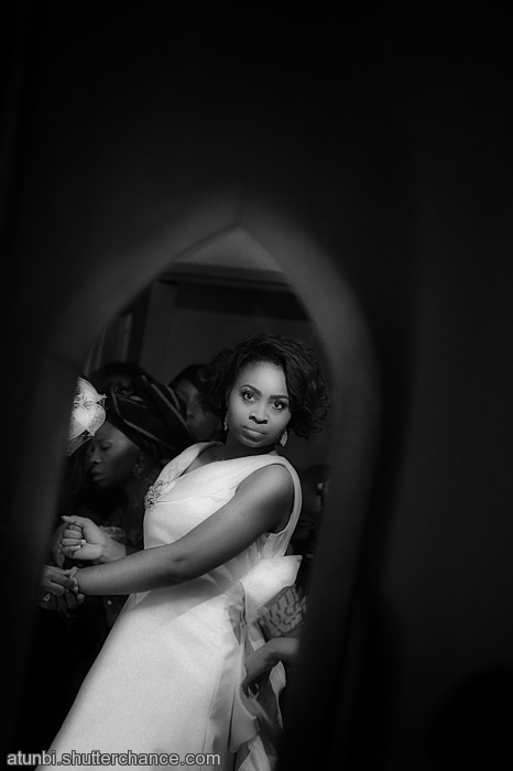 photoblog image Nigerian Wedding | Reflection